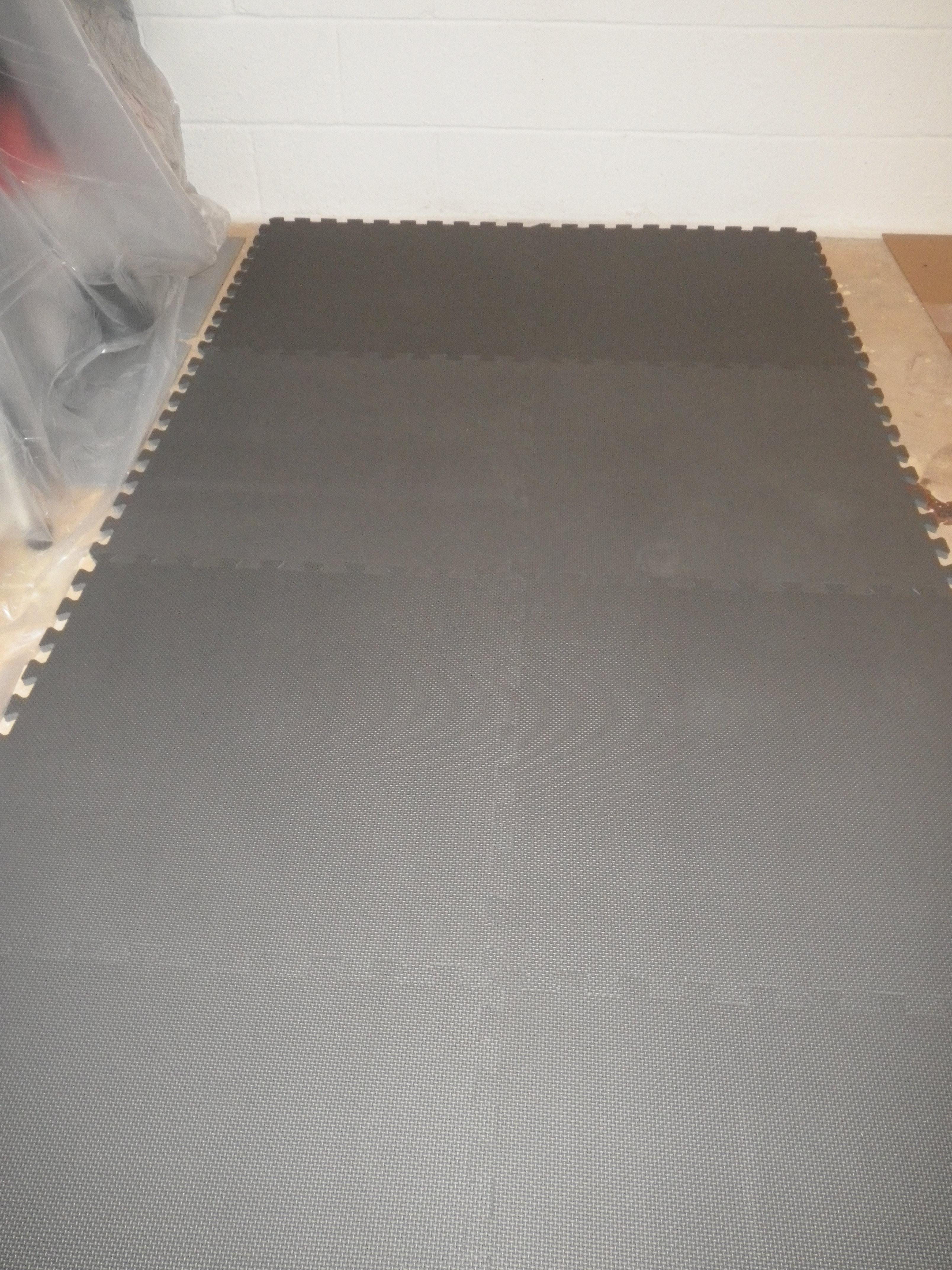 finish utility floor tiles with grain ash foam garage automotive wood puzzle cushion auto storage mats accessories mat interlocking fitness