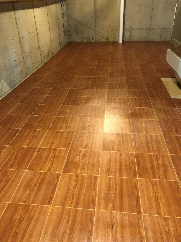 Raised Floor Tile Max Modular Basement Flooring