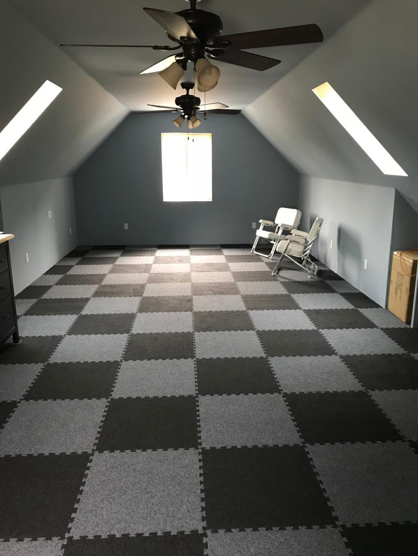 Image of: Interlocking Carpet Tiles Squares