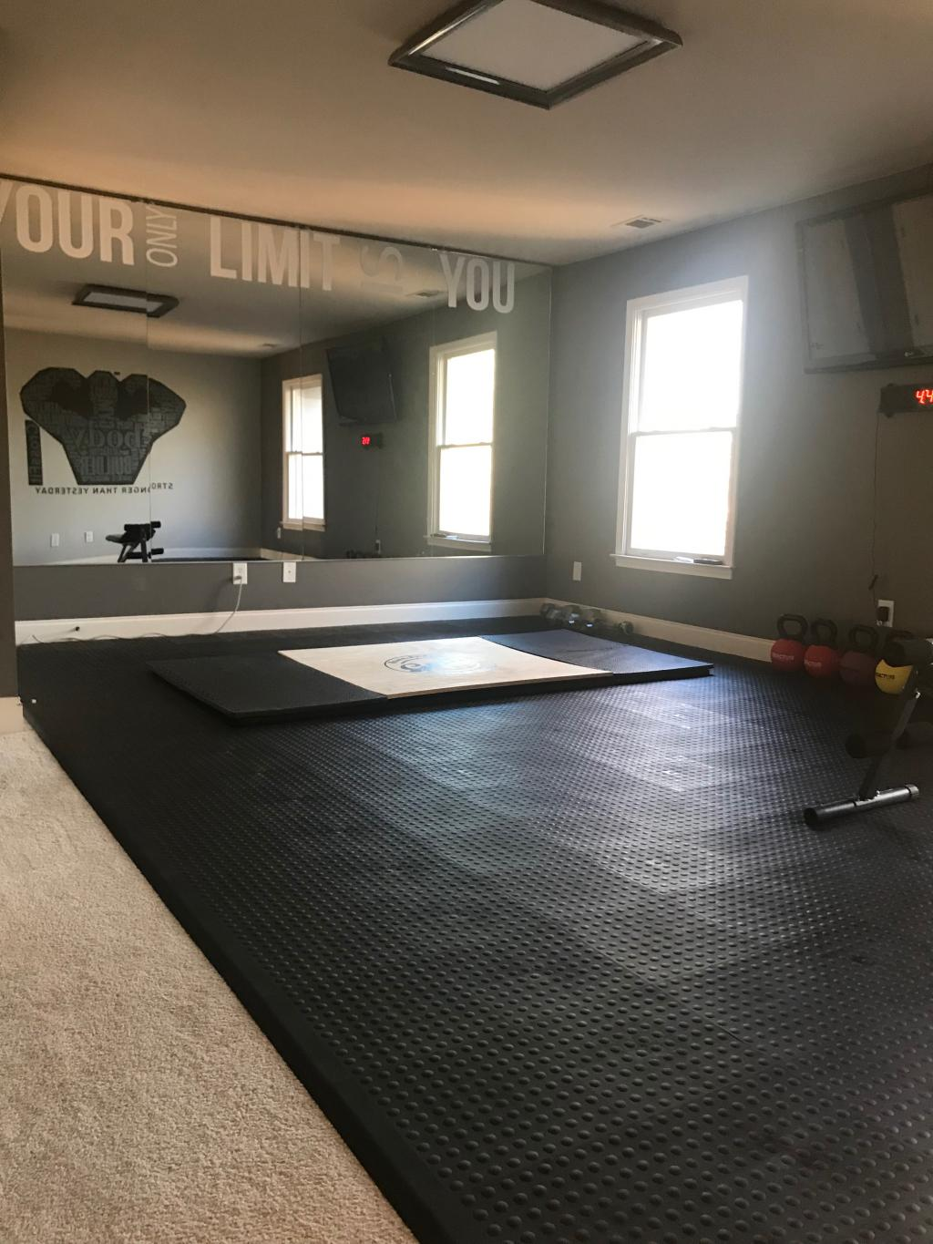 Exercise Room Flooring Workout Room Flooring