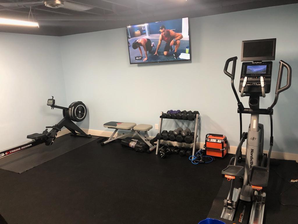 Inch plyometric workout gym flooring